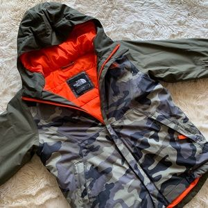 North Face Kids Brayden Insulated Jacket Size 7-8